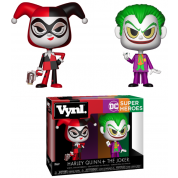 Funko Vynl. DC - Harley Quinn & The Joker 2-Pack Action Figures 10cm