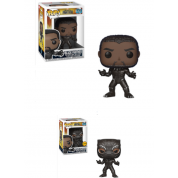Funko POP! Marvel Black Panther - Black Panther Vinyl Figure 10cm Assortment (5+1 chase figure)