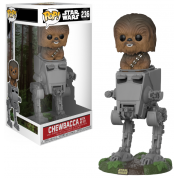 Funko POP! Deluxe: Star Wars - Chewbacca in AT-ST Vinyl Figure