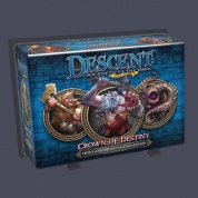FFG - Descent 2nd Edition: Crown of Destiny Hero and Monster Collection - EN