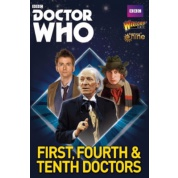 Doctor Who: The first, fourth and tenth Doctors - EN