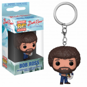 Funko POP! Keychain: TV - Bob Ross Vinyl Figure 4cm