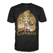 Funko Tees - Cuphead and Bosses (S)