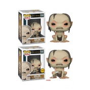 Funko POP! Movies LOTR/Hobbit - Gollum Vinyl Figure 10cm Assortment (5+1 chase figure)