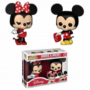 Funko POP! Valentine Mickey & Minnie - 2-Pack Vinyl Figures 10cm