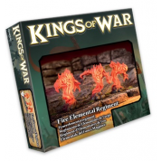Kings of War - Fire Elemental Regiment - EN