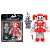 Funko Action Figures FNAF: Nightmare Baby Glow in the Dark Poseable Figure 10cm