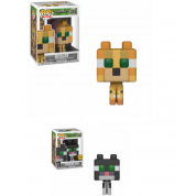 Funko POP! Minecraft - Ocelot Vinyl Figure 10cm Assortment (5+1 chase figure)