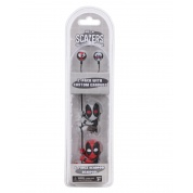 Marvel - 2 Pack of 5cm Characters with Custom Earbuds Deadpool and X Force Deadpool