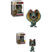 Funko POP! Jurassic Park - Dilophosaurus Vinyl Figure 10cm Assortment (5+1 chase figure)