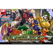 Future Card Buddyfight - Set 03: Drum's Adventures Booster Display (30 Packs) - EN
