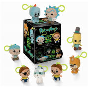 Funko Keychains - Rick and Morty Blindbags Display (18 random packaging) Plush Figures 7cm