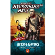 Neuroshima Hex 3.0 – Iron Gang Hexpuzzles pack - EN