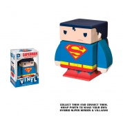 Funko Vinyl Cubed: DC Comics - Superman Interchangeable Magnetic Vinyl³ Figur 7cm