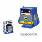Funko Vinyl Cubed: DC Comics - Blue Batman Interchangeable Magnetic Vinyl³ Figur 7cm