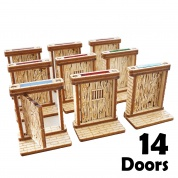 Blackfire - Medieval Doors Set (14pcs)