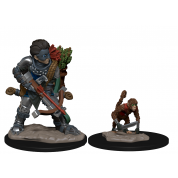WizKids Wardlings RPG Figures: Boy Rogue & Monkey (6 Units)