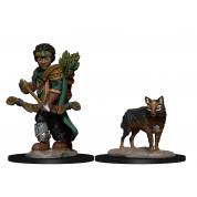 WizKids Wardlings RPG Figures: Boy Ranger & Wolf (6 Units)