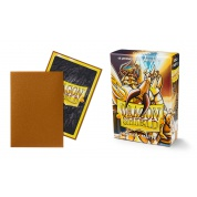 Dragon Shield Small Sleeves - Japanese Matte Gold (60 Sleeves)