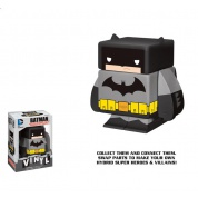 Funko Vinyl Cubed: DC Comics - Batman Dark Knight Interchangeable Magnetic Vinyl³ Figur 7cm