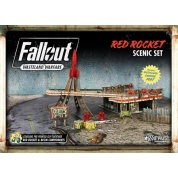 Fallout: Wasteland Warfare - Red Rocket Scenic Set - EN