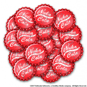Fallout: Wasteland Warfare - Nuka Cola Caps Set - EN