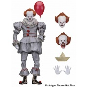 IT - Action Figure - Ultimate Pennywise 18cm (2017 Movie)