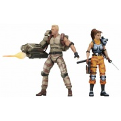 Alien vs Predator - Action Figure - Dutch & Lin Arcade 2 Pack 18cm