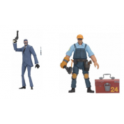 Team Fortress - Action Figure - Series 3.5 BLU Assortment (8) 18cm