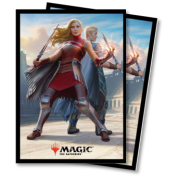 UP - Standard Sleeves - Magic: The Gathering - Battlebond V2 (80 Sleeves)