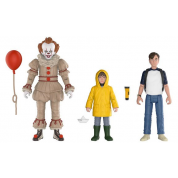 Funko Action Figures It 2017 - Pennywise, Bill, Georgie Poseable Figures 3-Pack