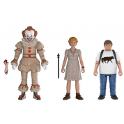 Funko Action Figures It 2017 - Pennywise, Ben, Beverly Poseable Figures 3-Pack