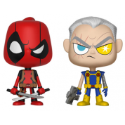 Funko Vynl. - Deadpool & Cable 2-Pack Action Figures 10cm