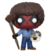 Funko POP! Deadpool - Deadpool Bob Ross Vinyl Figure 10cm