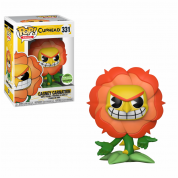 Funko POP! Cuphead - Cagney Carnation Vinyl Figure 10cm ECCC Exclusive