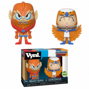 Funko Vynl. - MOTU Sorceress & Beast-Man 2-Pack Action Figures 10cm ECCC Exclusive