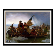 UP - Standard Sleeves - Fine Art Washington Crossing the Delaware (65 Sleeves)
