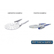 Star Trek: Attack Wing Deep Cuts Unpainted Miniatures - Constitution Class (refit) (6 Units)