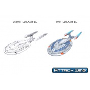 Star Trek: Attack Wing Deep Cuts Unpainted Miniatures - Sovereign Class (6 Units)