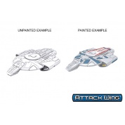 Star Trek: Attack Wing Deep Cuts Unpainted Miniatures - Defiant Class (6 Units)