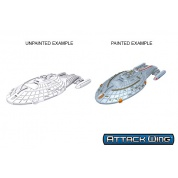 Star Trek: Attack Wing Deep Cuts Unpainted Miniatures - Intrepid Class (6 Units)