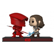 Funko POP! Star Wars Movie Moment - The Last Jedi Rey & Praetorian Guard Vinyl Figure