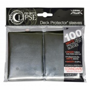 UP - Standard Sleeves - PRO-Matte Eclipse - Jet Black (100 Sleeves)