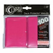 UP - Standard Sleeves - PRO-Matte Eclipse - Hot Pink (100 Sleeves)