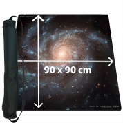 Blackfire Ultrafine Playmat - Space 90x90cm with carrybag