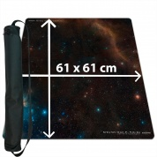 Blackfire Ultrafine Playmat - Space 61x61cm with carrybag