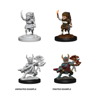 D&D Nolzur's Marvelous Miniatures: Female Halfing Fighter (6 Units)