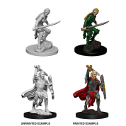 D&D Nolzur's Marvelous Miniatures: Female Elf Fighter (6 Units)