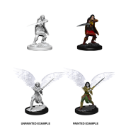 D&D Nolzur's Marvelous Miniatures: Female Aasimar Fighter (6 Units)