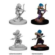 Pathfinder Battles Deep Cuts Unpainted Miniatures - Female Gnome Rogue (6 Units)